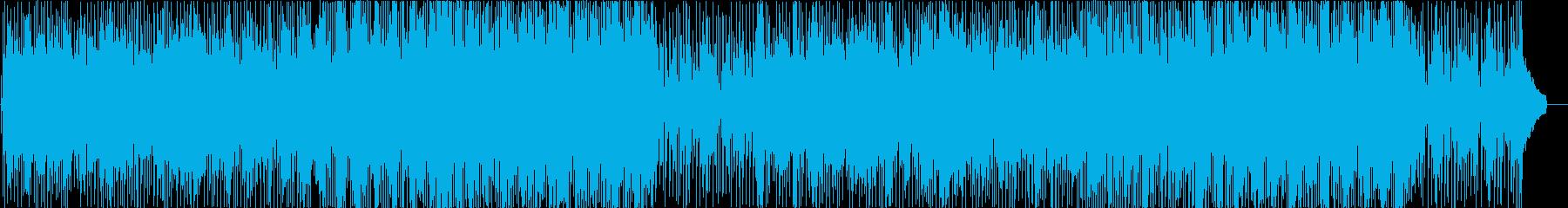かわいいポップな日常シーン系の曲の再生済みの波形