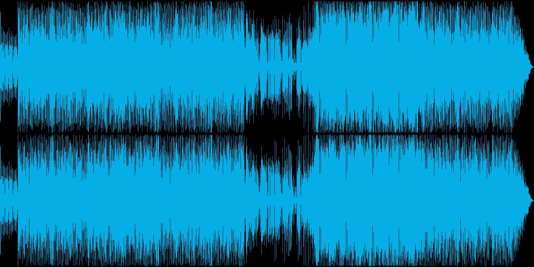 エレガントかつパーカッシブなスタイルの再生済みの波形
