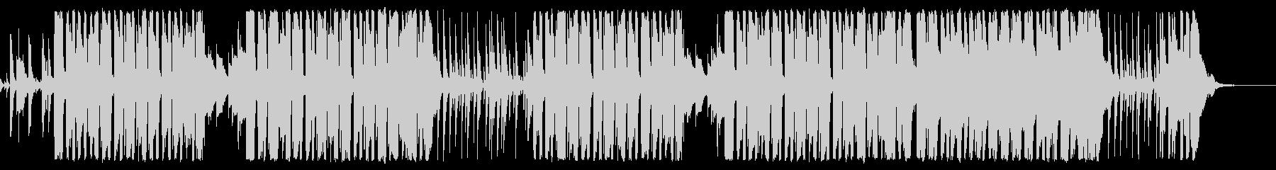 ピエロのパントマイム コミカルポップの未再生の波形