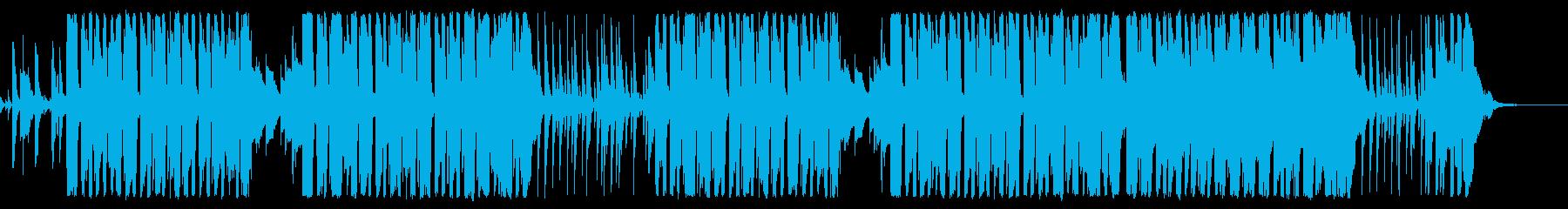 ピエロのパントマイム コミカルポップの再生済みの波形