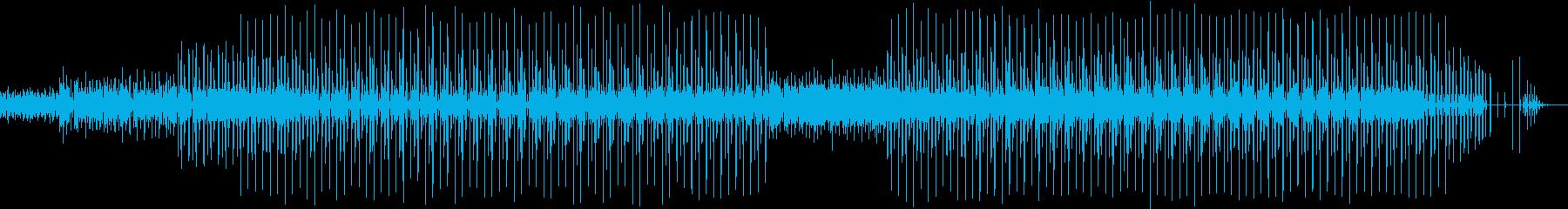 ヒップホップ-ラップ-ファンク。の再生済みの波形