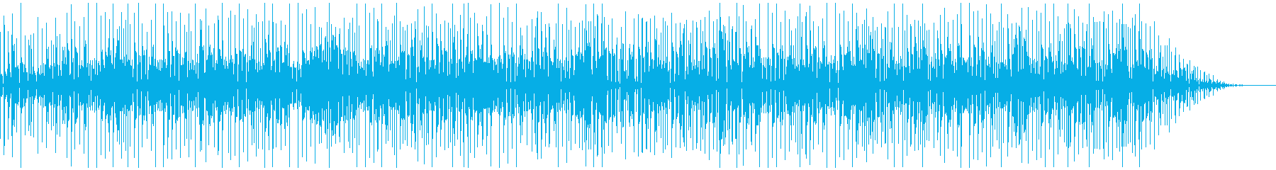 古臭くコミカルさのあるファンクの再生済みの波形