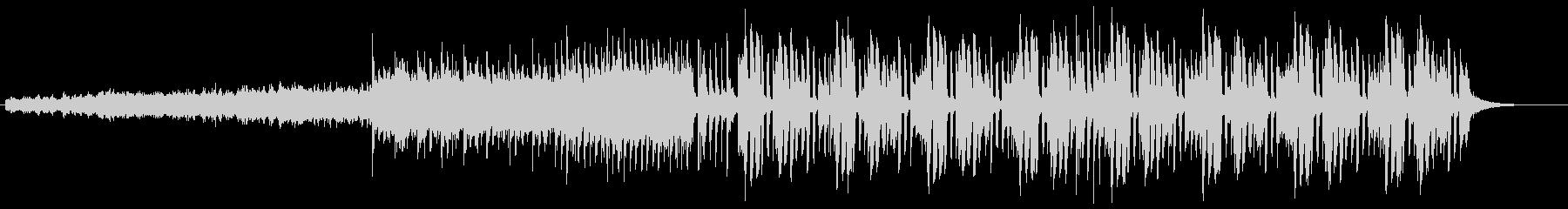 バウンド感のある変則ビートの未再生の波形