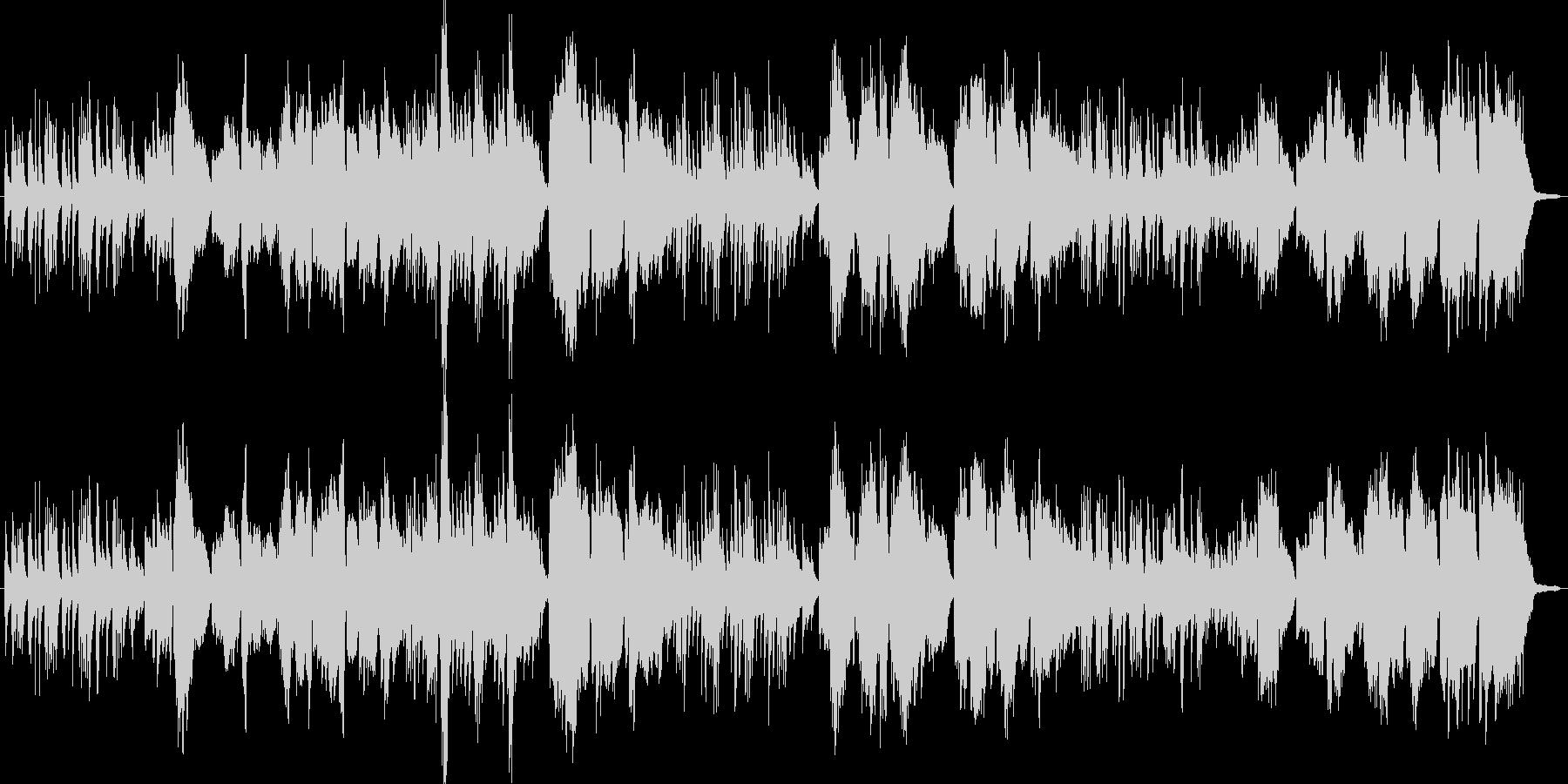 ピアノとボーカルのみのシンプルなアレン…の未再生の波形