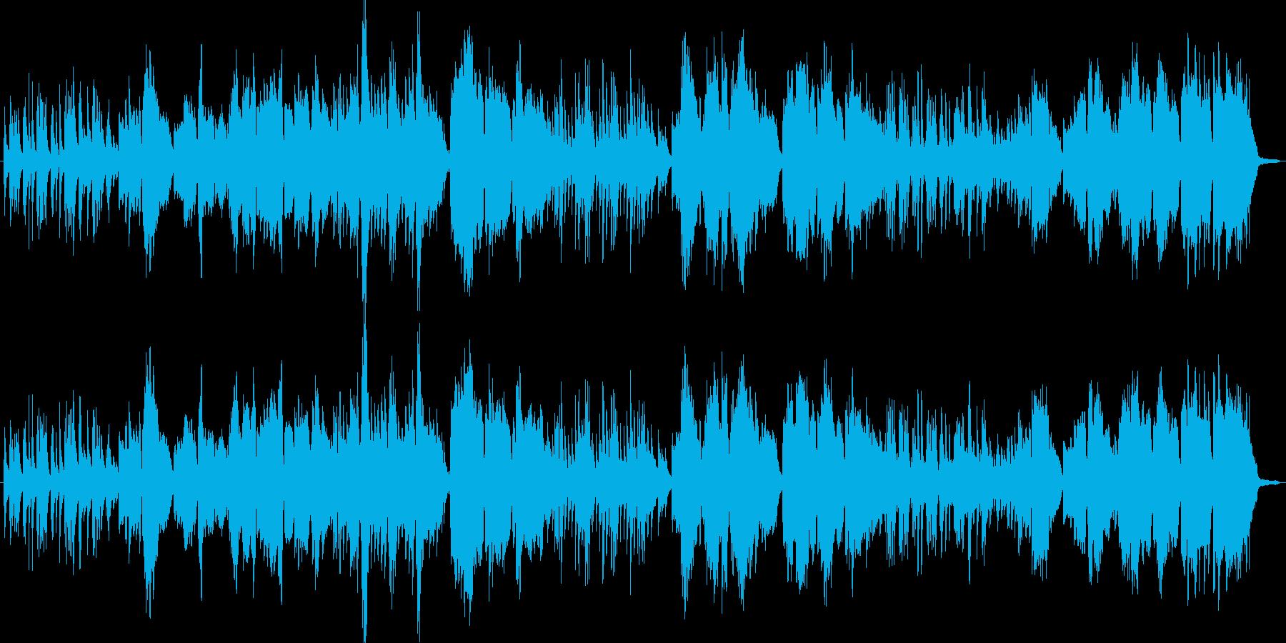 ピアノとボーカルのみのシンプルなアレン…の再生済みの波形