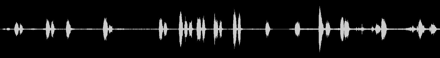 ジェイの未再生の波形