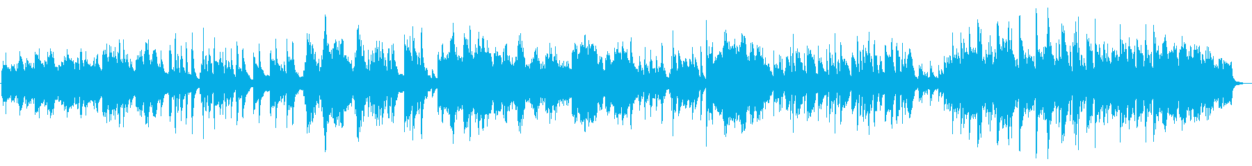 ハープの旋律が印象的なポップスの再生済みの波形