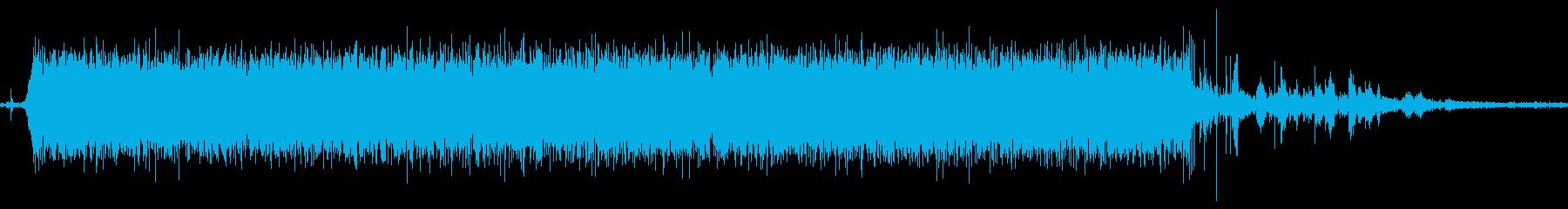 水道をひねった音「ジャー」って感じです。の再生済みの波形