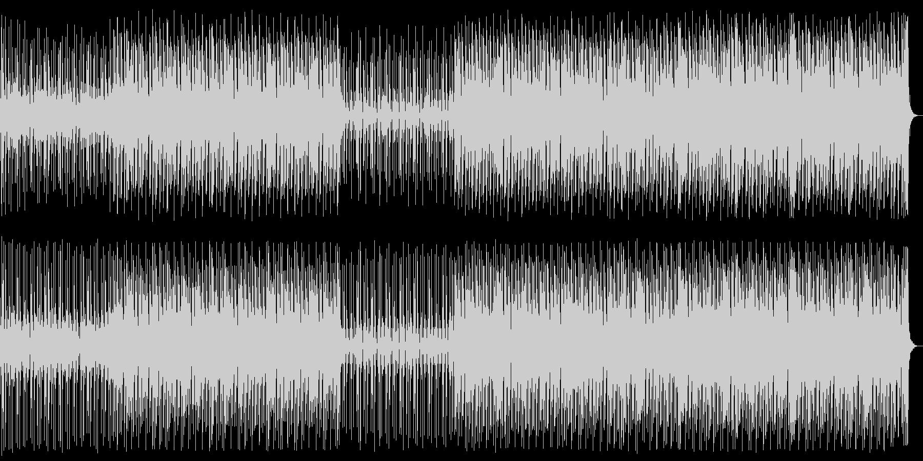 ビートの強いディープハウスNo681_1の未再生の波形