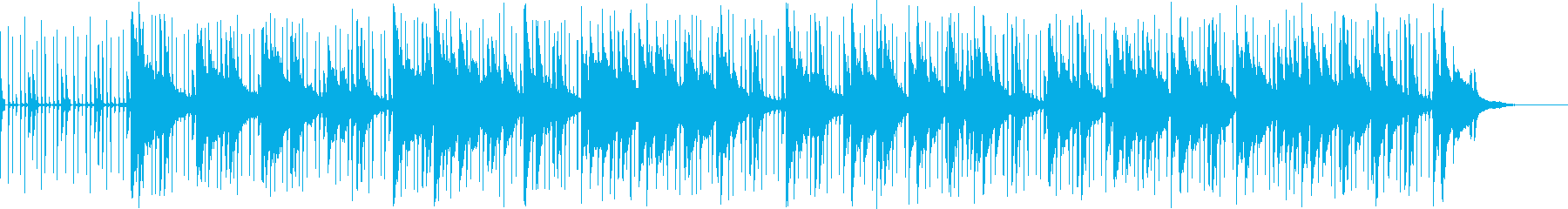 メローで反射的なインストゥルメンタ...の再生済みの波形