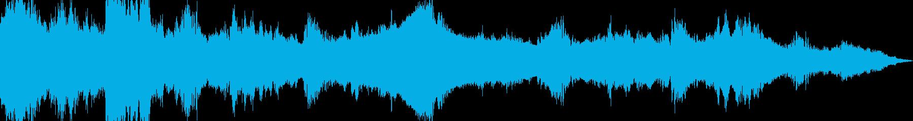 【シネマティックシリーズ】緊迫・不安の再生済みの波形
