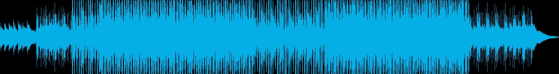 無機質なエレピループのエレクトロニカの再生済みの波形