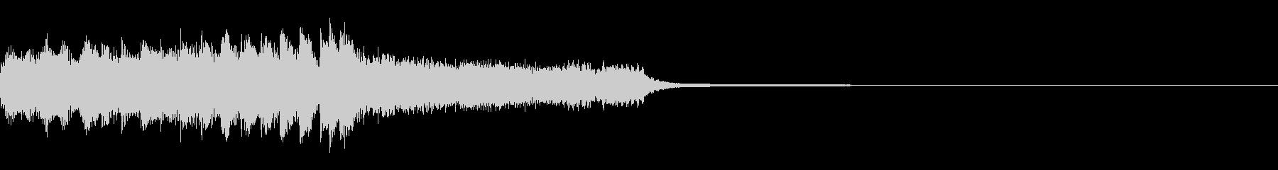 ゲーム起動時のBGMの未再生の波形