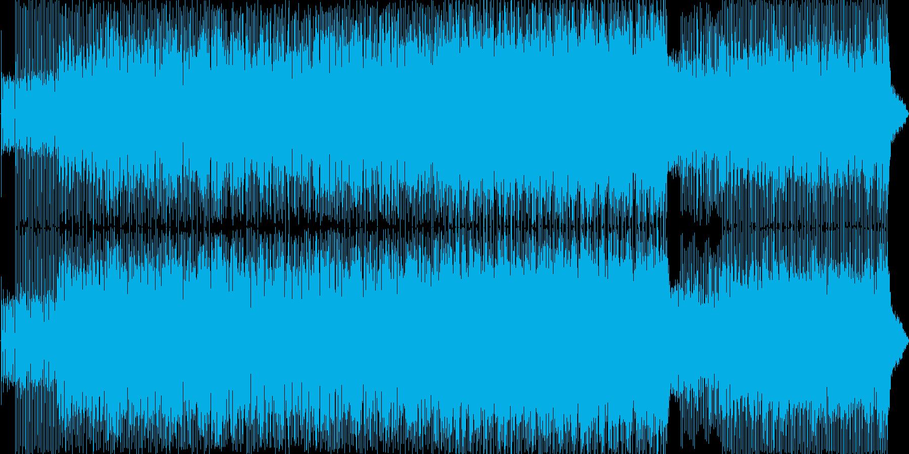 ポップ アクション ハイテク 緊迫...の再生済みの波形