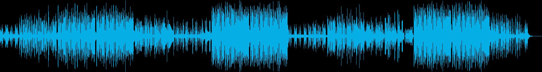 軽快で春らしいフォークトロニカの再生済みの波形