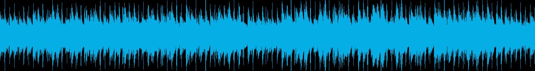 アコギ生演奏アルペジオ優しい海空島映像にの再生済みの波形