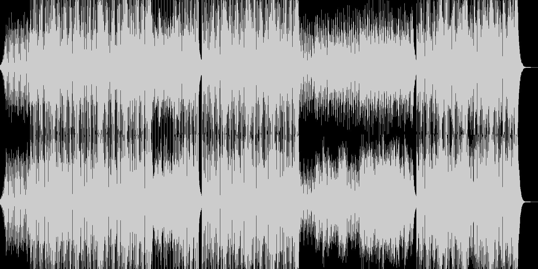 ラーメンを食べたくなるチャイニーズR&Bの未再生の波形