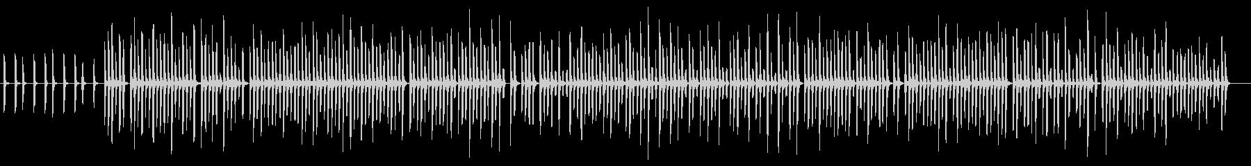 ランダムな口笛みたいな曲・コード進行の未再生の波形
