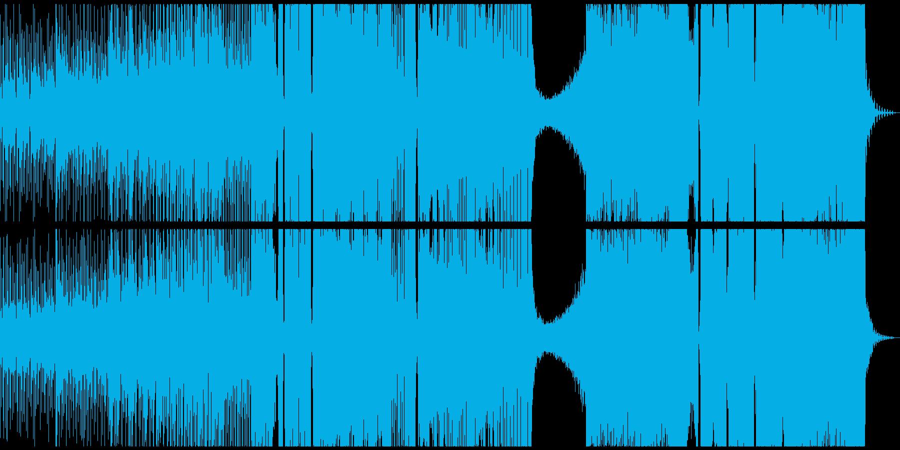和風でダークなエレクトロの再生済みの波形