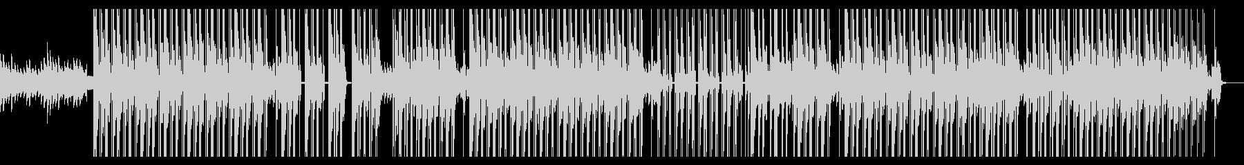 ダークで悲しい闇社会なピアノヒップホップの未再生の波形