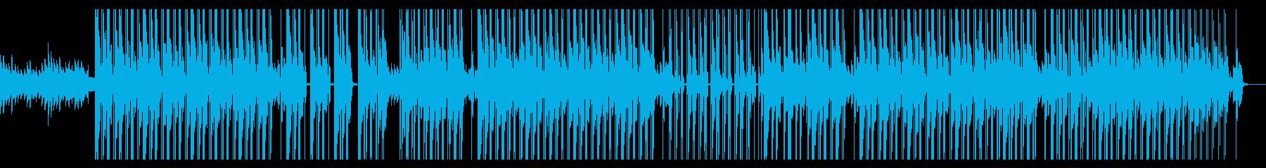 ダークで悲しい闇社会なピアノヒップホップの再生済みの波形