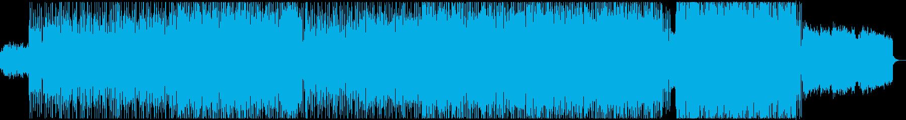 明るく爽やかなトランペットの企業VPの再生済みの波形