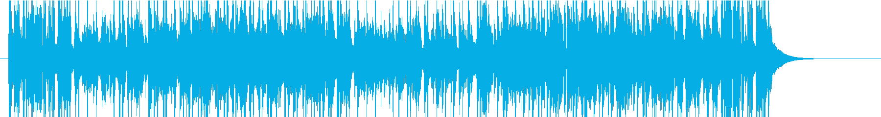 はかたソングの再生済みの波形