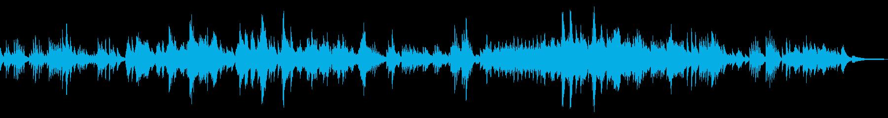 切ない/メロディアスな日常系ピアノソロの再生済みの波形