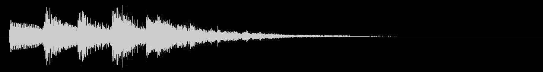 KANTシンセジングル010171の未再生の波形