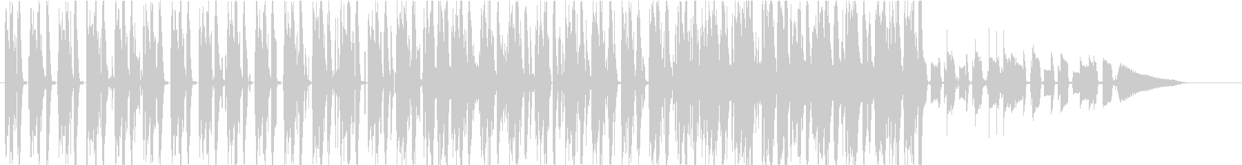 interloudの未再生の波形
