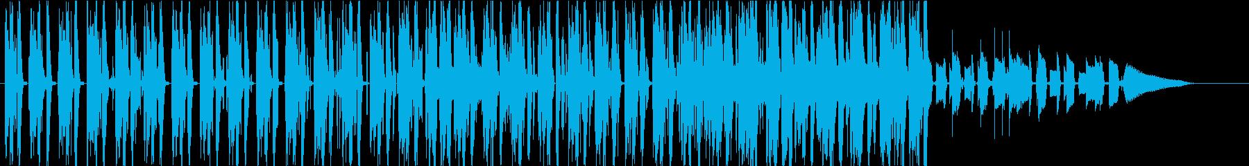 interloudの再生済みの波形