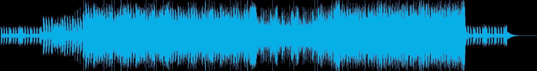 ダブステップ、EDM、サイバー、AIの再生済みの波形
