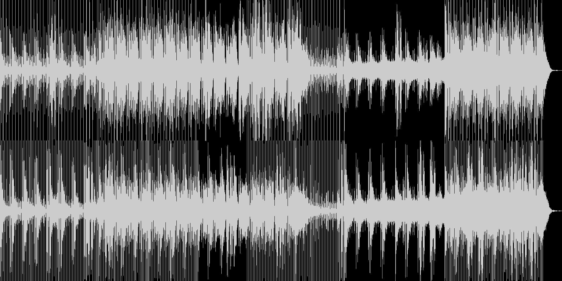 クールな風景に合うアンビエント系BGMの未再生の波形