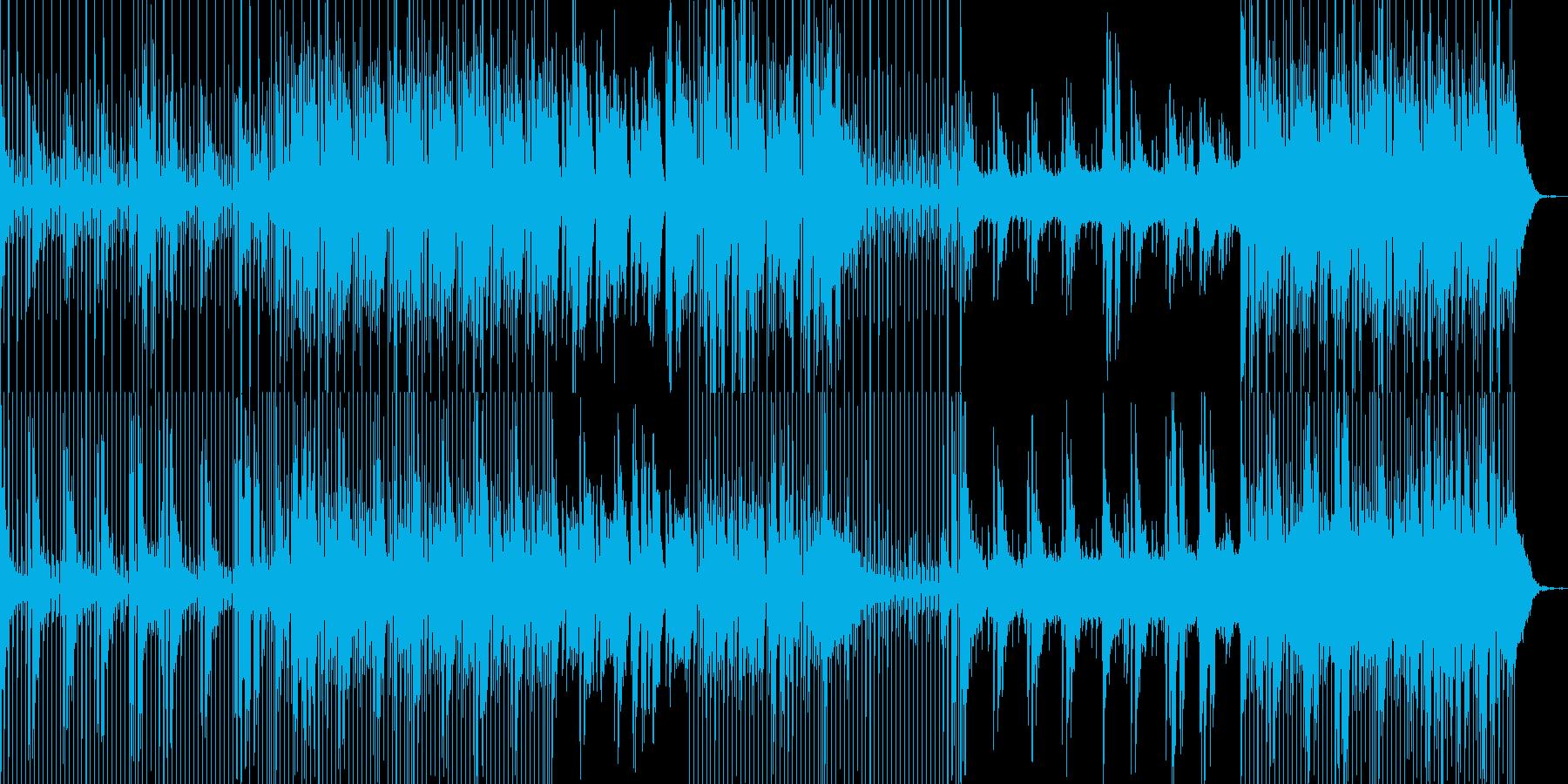 クールな風景に合うアンビエント系BGMの再生済みの波形