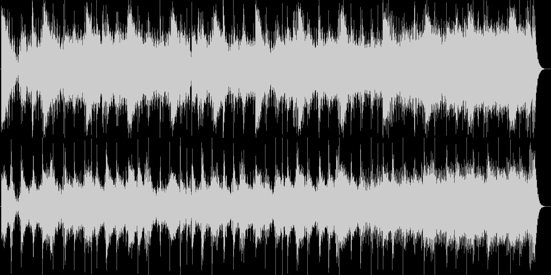近未来的なシンセサイザー打楽器サウンドの未再生の波形