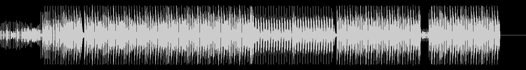 【Pf抜】軽快なピアノが印象的なEDMの未再生の波形