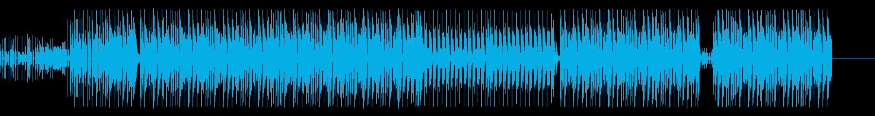 【Pf抜】軽快なピアノが印象的なEDMの再生済みの波形