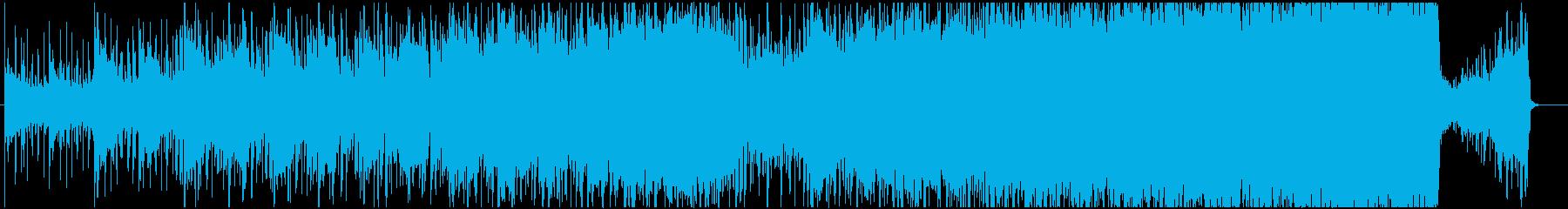 重層的なボーカルループ、ポストロックの再生済みの波形