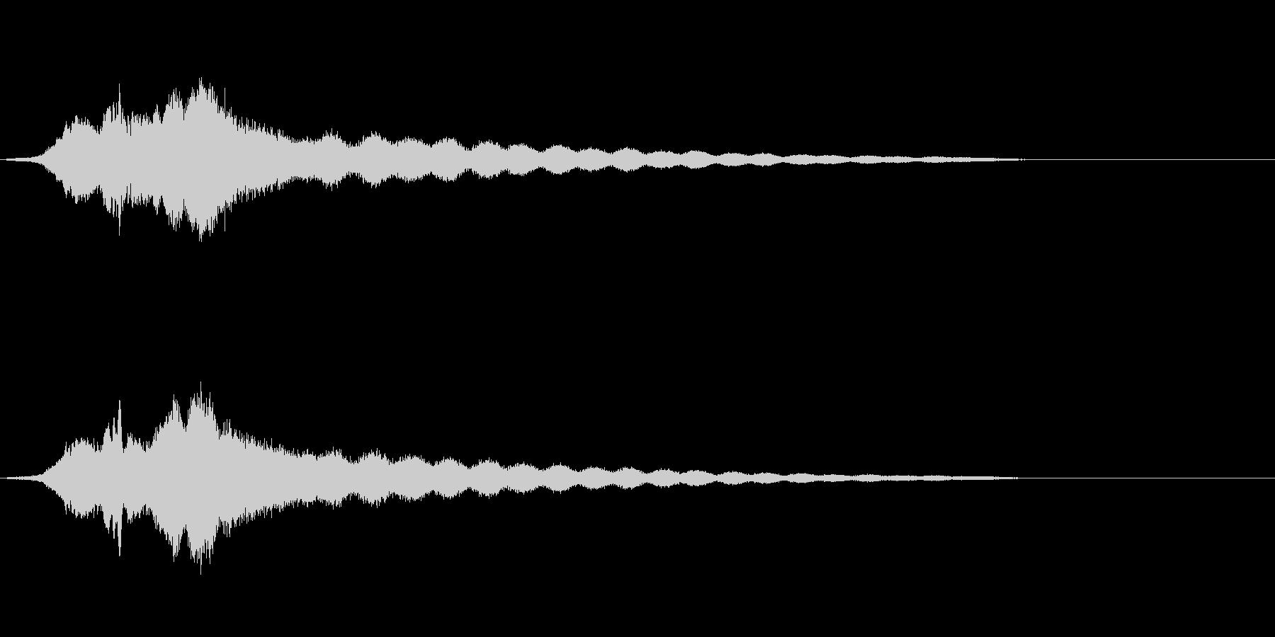 オールドライドシンボルボウCU 3の未再生の波形