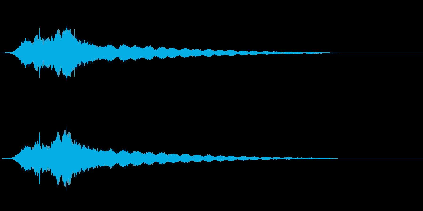 オールドライドシンボルボウCU 3の再生済みの波形