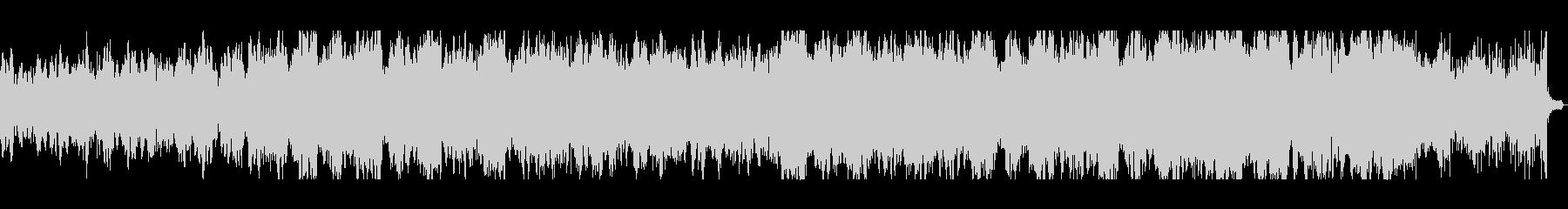 KANT無機質ホラーBGMの未再生の波形