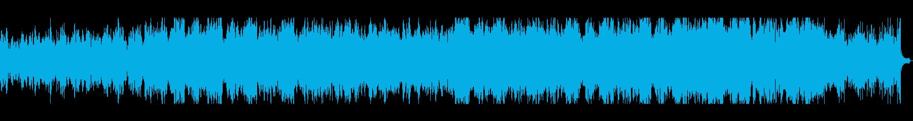 KANT無機質ホラーBGMの再生済みの波形