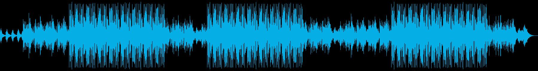 和風座禅マインドフルネスなトラップビートの再生済みの波形