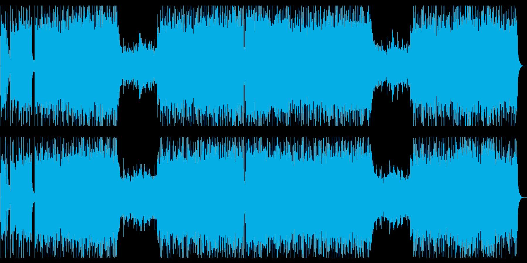 凶悪でゴリゴリなシンフォニック・ロックの再生済みの波形