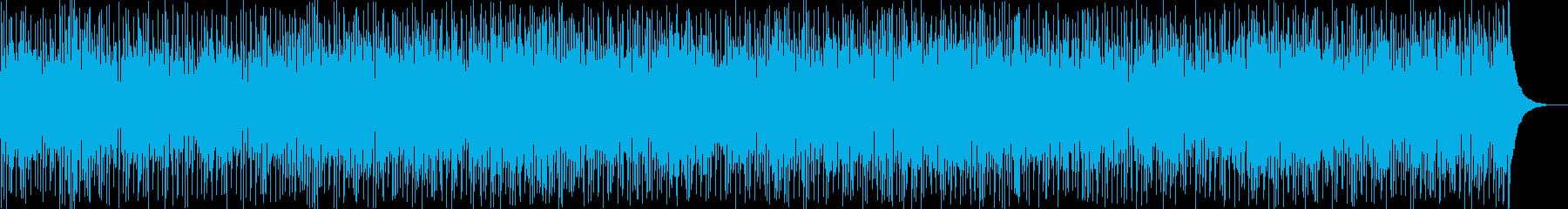 退屈な夜を吹き飛ばすようなファンクの再生済みの波形