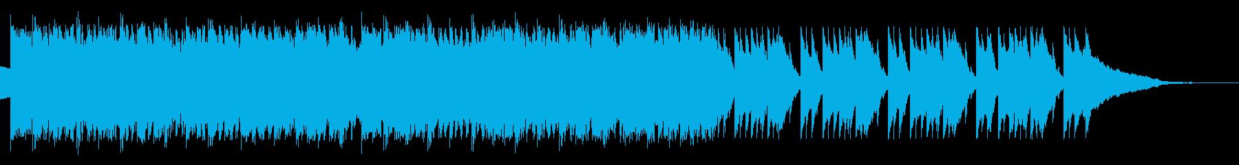 リズミカルなテクノ モーニングルーティンの再生済みの波形