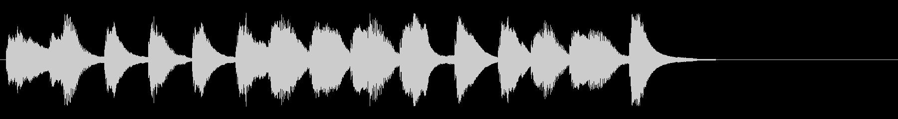 料理/子供・キッズ/軽やかピアノジングルの未再生の波形