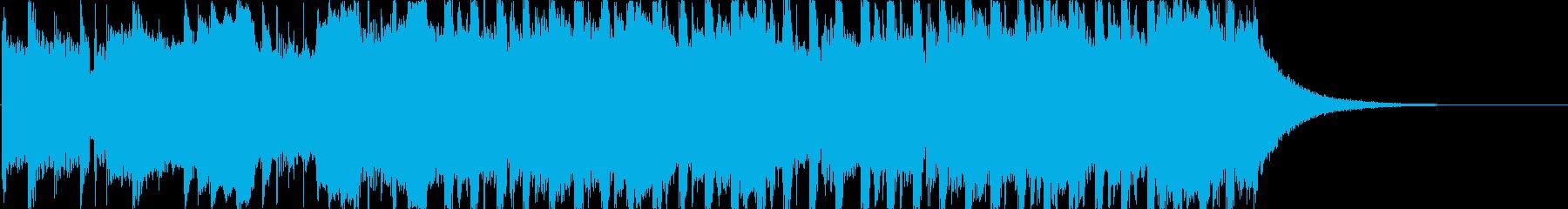 ヘヴィロック アクション 楽しげ ...の再生済みの波形