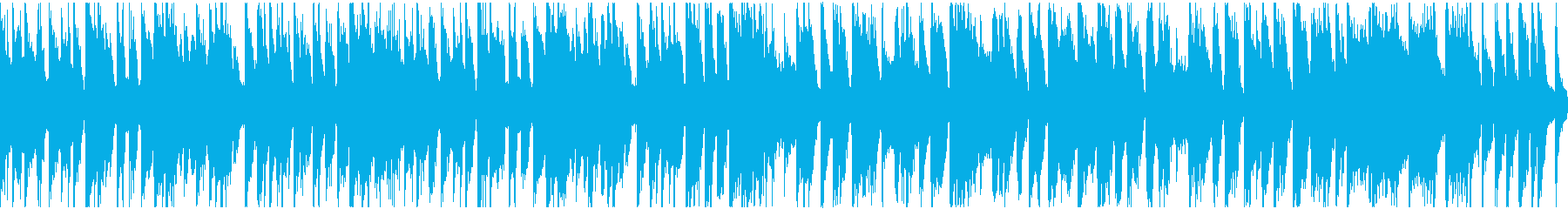 ループ:中華・カンフー映画風ファンクv1の再生済みの波形