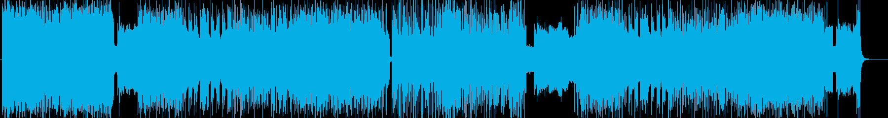 「HR/HM」「DEATH」BGM173の再生済みの波形